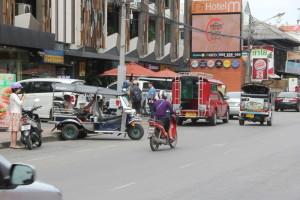 チェンマイの街並み