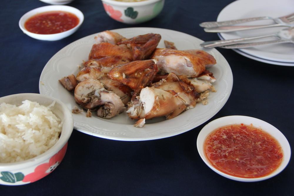 タイチェンマイで一番美味しいガイヤーン(焼き鳥)のお店【SPチキン】