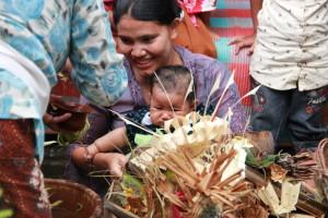 赤ちゃんの儀式