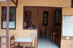 ウブドの食堂