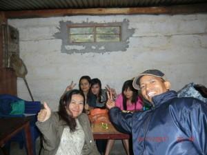 ネパールの女子大生