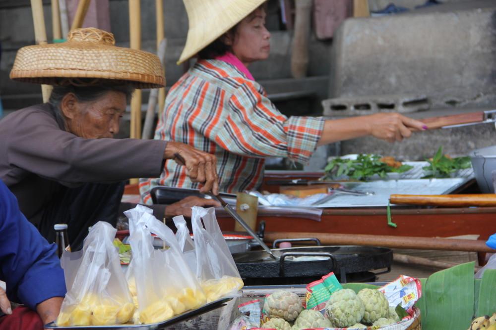 【タイ・バンコク水上マーケット】情報 バンコク近郊お勧め&外せない観光スポット