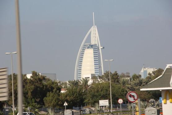 七つ星のホテル ブルジュ・アル・アラブ