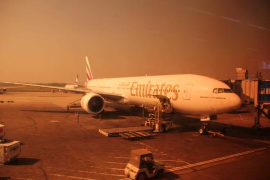 ドバイの航空会社 エミレーツ