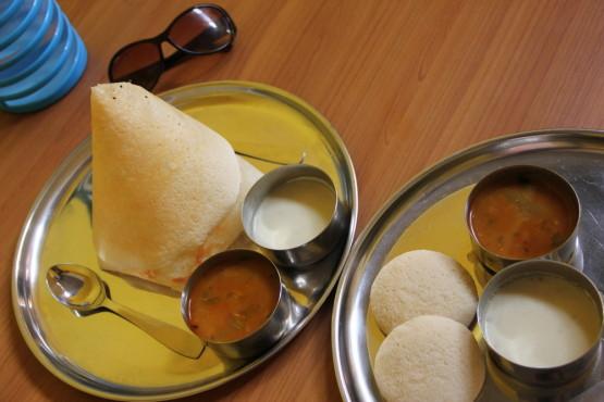 南インド料理ドーサ