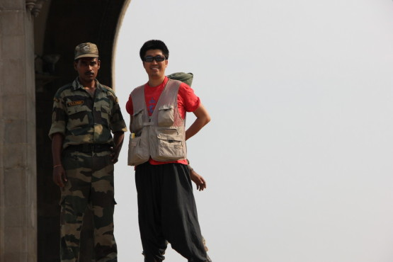 ムンバイの兵士と