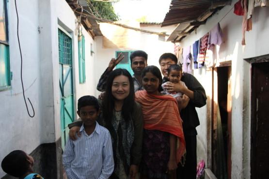 リキシャマン タヒルの家族