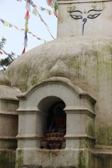 ネパールにて