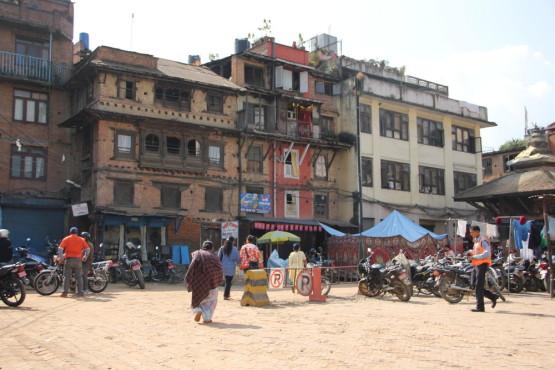 ネパール カトマンズの町にて