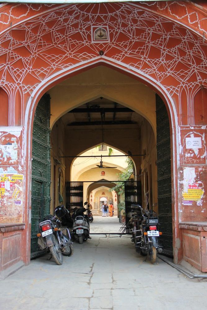 インドのジャイプール 通称ピンクシティ