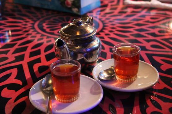 やっぱりエジプトでもお茶♪