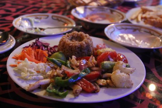 エジプト料理は日本人の口によく合う