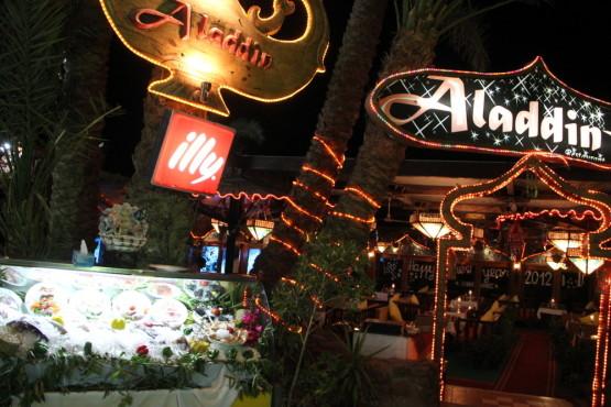 ダハブで通ったレストラン