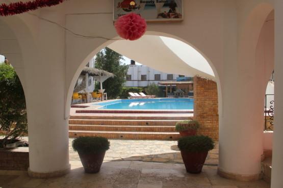 ダハブのホテルについているプール