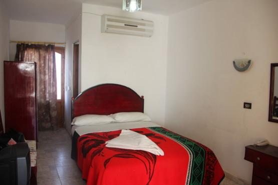 ダハブのホテルの部屋