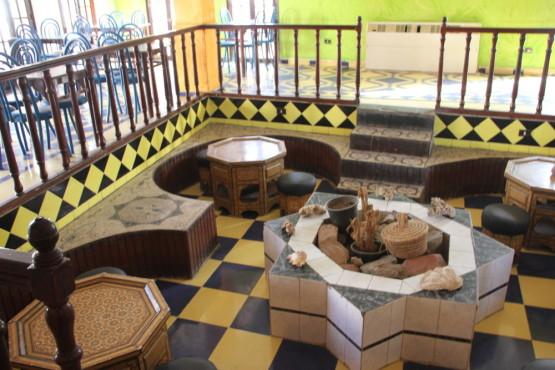 ホテルの食堂