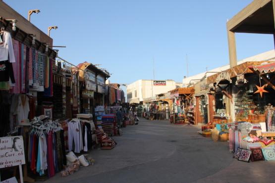 ダハブのメインストリート