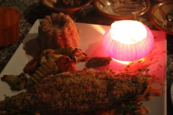 エジプトの魚料理