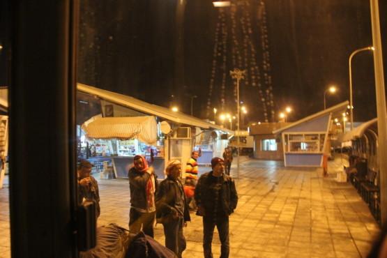 船でヨルダンからエジプトに到着