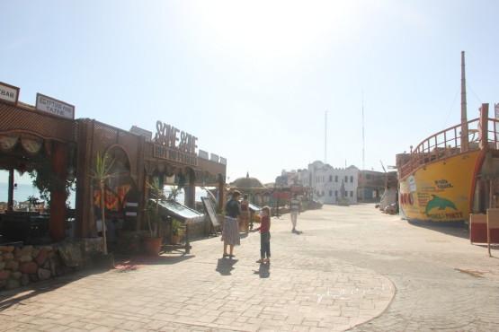 ダハブの町 のんびり