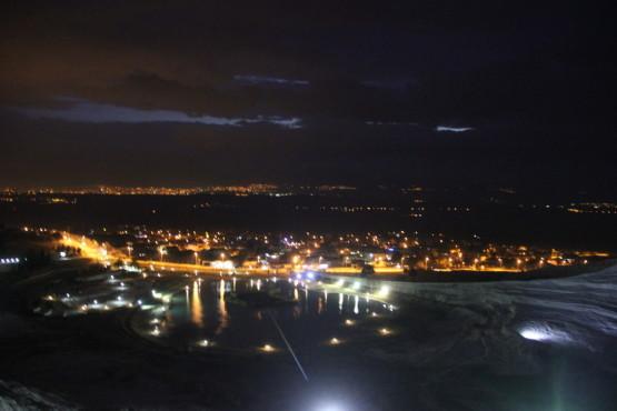 パムッカレからの夜景