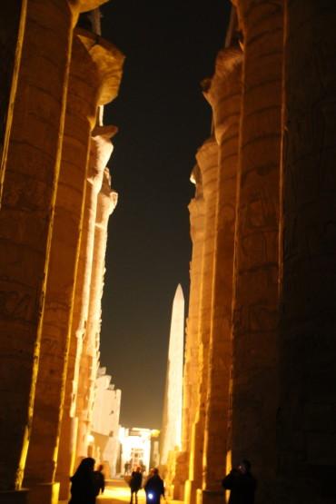 カルナック神殿内
