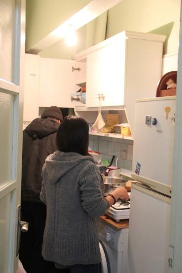 キッチンを借りて色々作ってみました