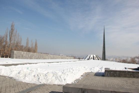 ミュージアム オブ ザ アルメニアン ジェノサイドの庭