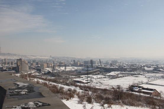 ミュージアム オブ ザ アルメニアン ジェノサイドの屋上から