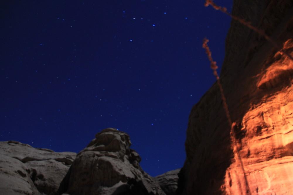 砂漠に魅せられて~ヨルダンのワディラム砂漠で過ごす夜の事~