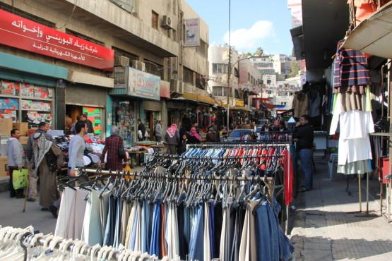 ヨルダンの洋服市場