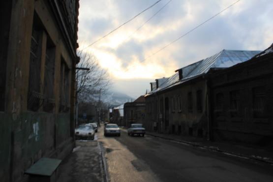 トビリシの街並み
