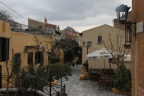 アテネの街