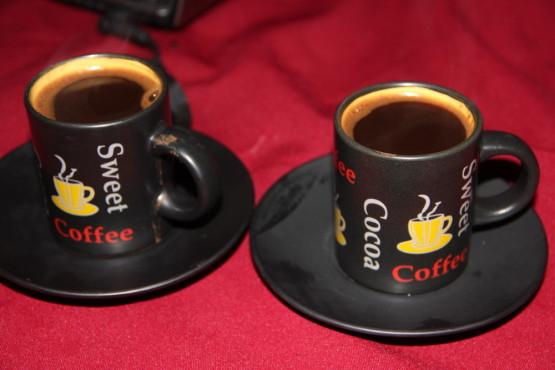 ホステルジョージアのサービスコーヒー