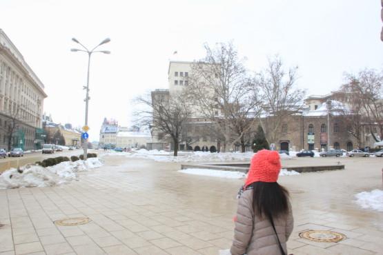 ブルガリアの首都ソフィアの街