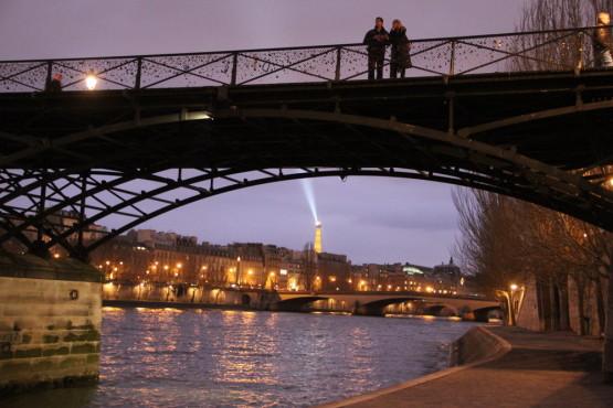 夜の散歩inパリ