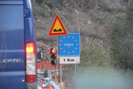 フランスからモナコへ