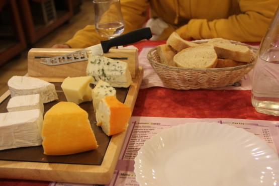 色々なチーズがある