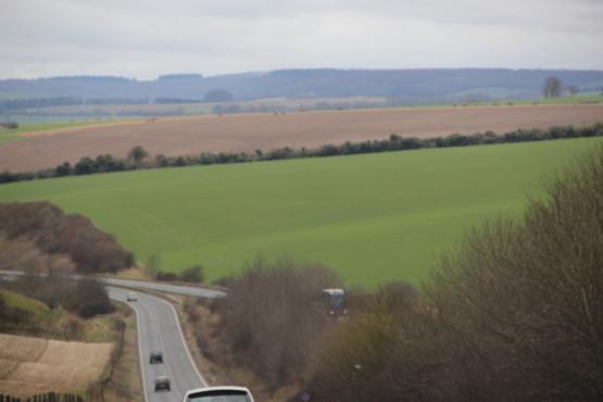 イギリスの田舎道