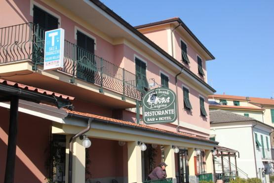 イタリアをドライブ中立ち寄ったレストラン