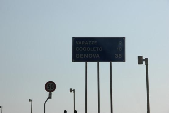 イタリアドライブ中