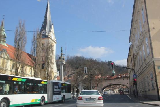 スロベニアの街並み