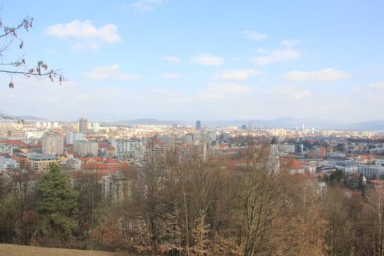 スロベニアにあるお城「リュブリャナ城」より