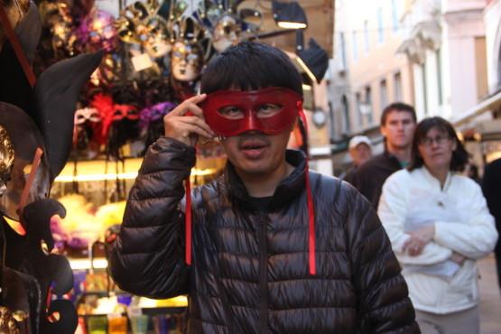 ベネチアの仮面