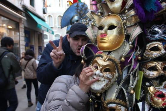 ベネチアといえばマスク