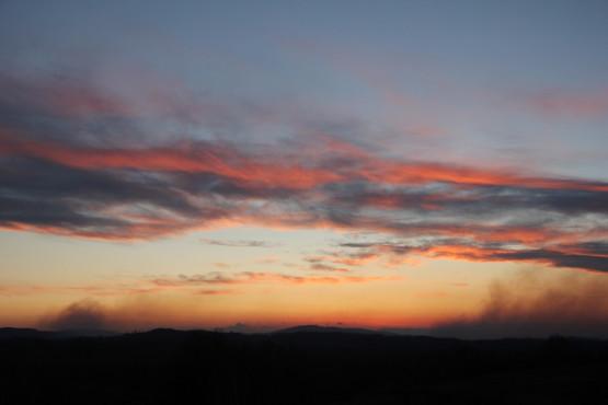 クロアチアの夕焼け