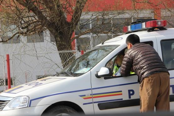 ルーマニアで警官に捕まる